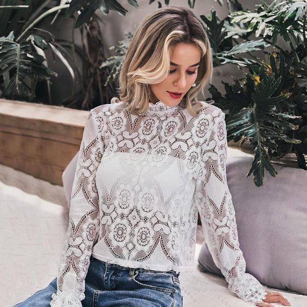 Bohemian Lace Tunic