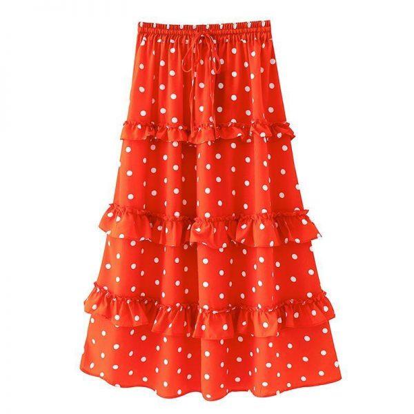 Long Summer Bohemian Skirt