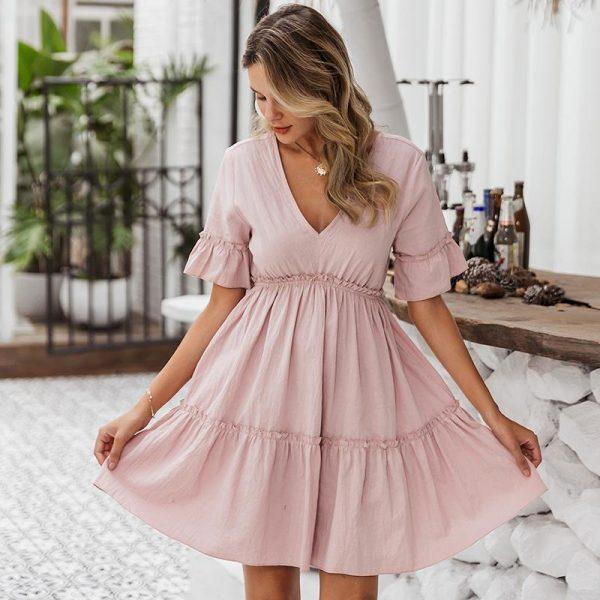 Hippie Bohemian Girl Dress