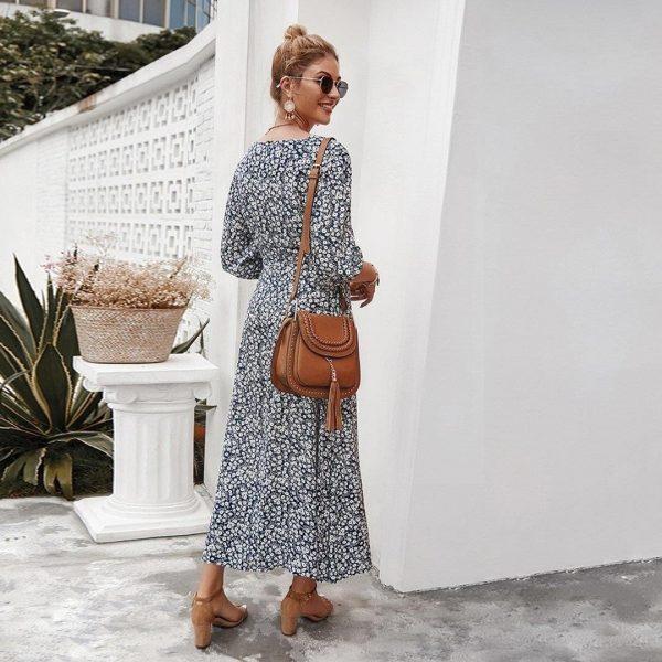 Bohemian dress winter 2018