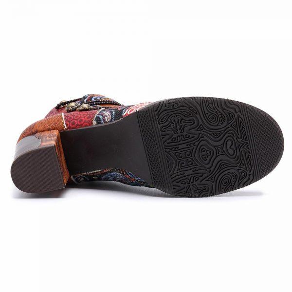 Bohemian Ethnic Boots