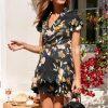 Bohemian chic champetre dress