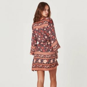 Bohemian chic dress ibiza