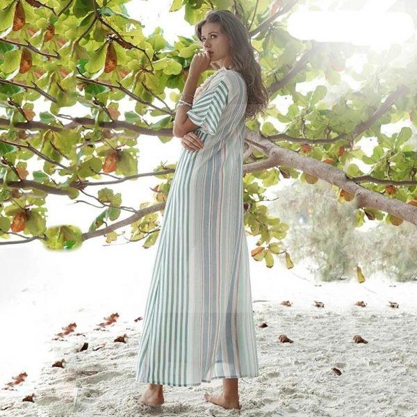 Bohemian flowing dress