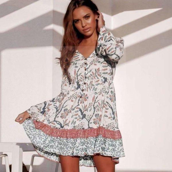 Hippie chic dress nantes