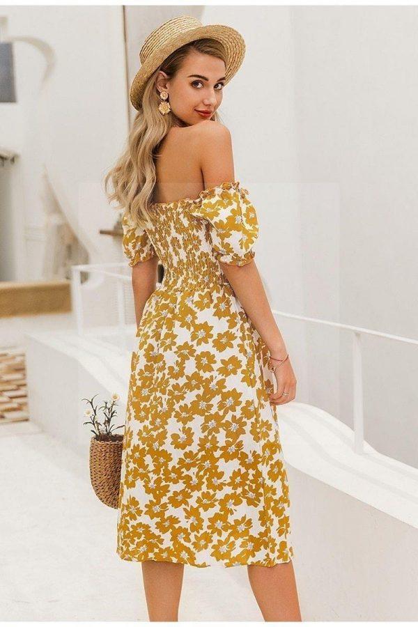 Dress boheme chic summer 2018