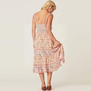 Bohemian fashion long dress